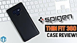 Samsung Galaxy Note 9 Spigen Thin Fit 360 Case Review!