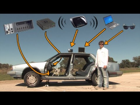 Surfing The Road On An iPhone-Controlled Oldsmobile