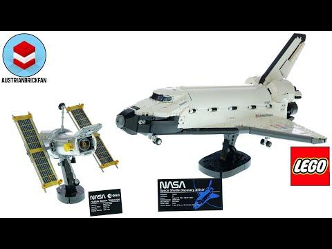 Vidéo LEGO Creator 10283 : La navette spatiale Discovery de la NASA