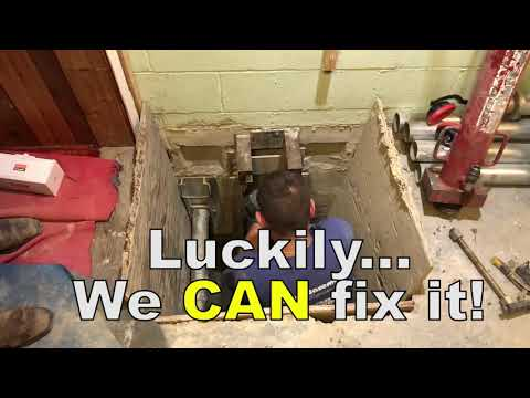 Are you experiencing foundation issues like the homes in this video? If you are, don't hesitate to call us for your free estimate!