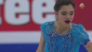 2017 Europeans - Evgenia Medvedeva SP NBCSN HD