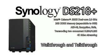 Synology DS218+ DiskStation NAS 2-Bay (2GB RAM) 6TB (2 X 3TB WD Red)