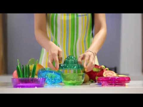 Exprimidor y cortador de frutas todo en uno Aliexpress