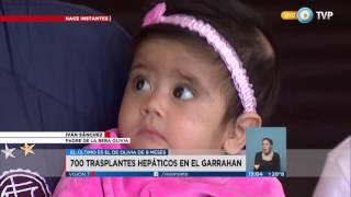 Visión 7 - El Garrahan realizó 700 trasplantes hepáticos (1 de 2)