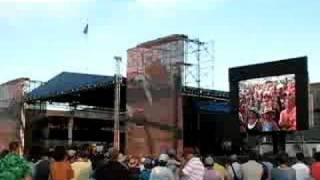 Jimmy Buffett Newport Folk Festival 2008 Blowin' in the WInd