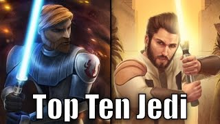 Top 10 Jedi (Results) - Star Wars Top Tens