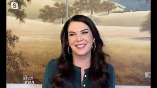 LAUREN GRAHAM LIVE WITH KELLY AND RYAN 24/3/21