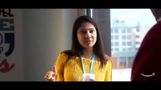 Life at Amazon Finance, Luxembourg. Meet Adya.   Kholo.pk
