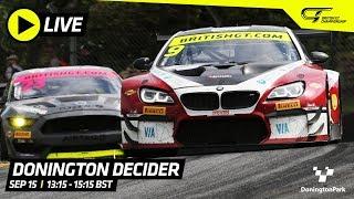 MAIN RACE - DONINGTON DECIDER - BRITISH GT 2019