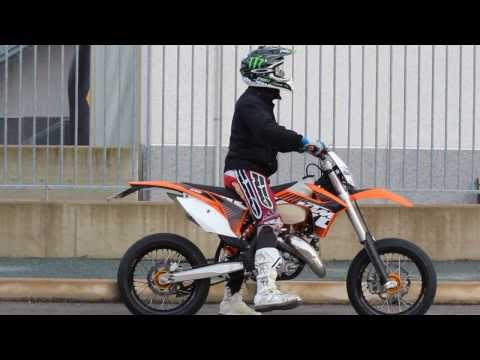 Soundcheck FMF shorty - KTM 125 exc 2012