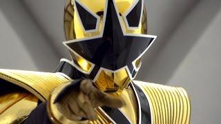 Octo Zord And Gold Ranger Mega Mode Debut Fight (Power Rangers Samurai)