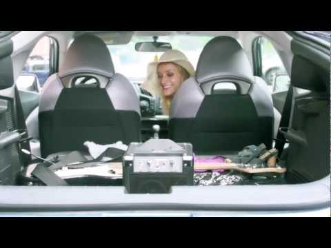 "Erica Derrickson in Ion's ""RoadRocker"" commercial..."