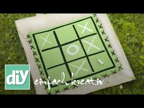 Schwimmbad-Tasche aus Tafelstoff   DIY einfach kreativ