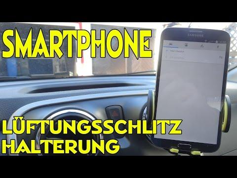 """""""OMAKER SMARTPHONE HALTERUNG FÜR AUTO LÜFTUNGSSCHLITZE"""" -Vorstellung"""