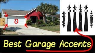 ✅Best Garage Door Decorative Accents Kit Flower Style Handle Hinge Set Review