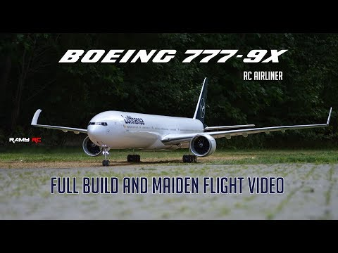 Building and Flying a Boeing 777-9X Model Aircraft