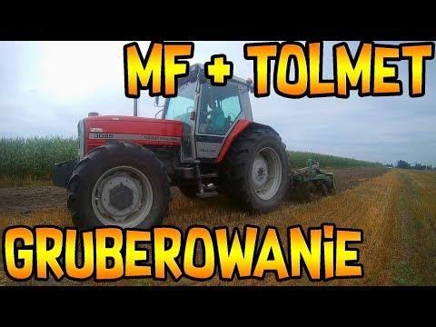 Tolmet ARSEN Schwergrubber Grubber Stoppel cultivator