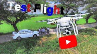 Test Flight | DJI Phantom 3 Pro (short video)
