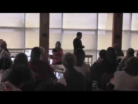 Shawn 'A-in-chut' Atleo speaks at VIU Lunch & Learn