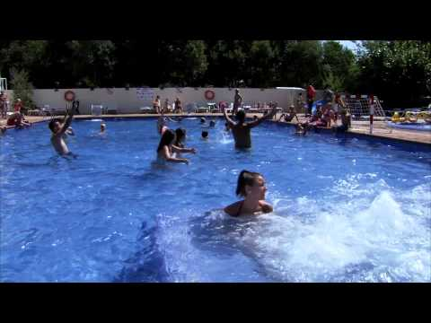 VIDEO OFICIAL CAMPING CABALLO DE MAR  (Pineda de Mar ) Spain