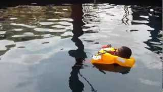preview picture of video 'Intelligent Lifejacket Demonstration (Lagos, Nigeria) July, 2012'