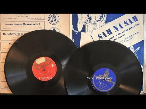 Polish 'English waltz'- war and pre-war pressing !