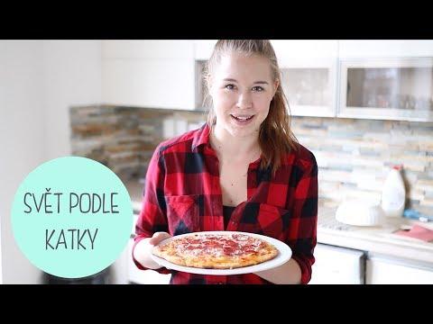 Recept na domácí pizzu ,
