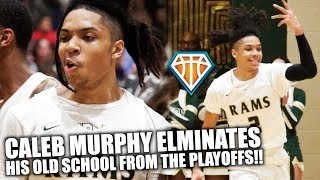 CALEB MURPHY BEATS HIS OLD SCHOOL IN STATE PLAYOFFS!! | Grayson vs Norcross Was TOO LIVE