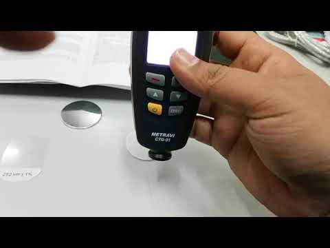 Metravi CTG-01 Coating Thickness Gauge