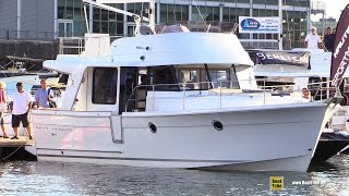2015 Beneteau Swift Trawler 34 - Walkaround - 2015 Montreal In Water Boat Show