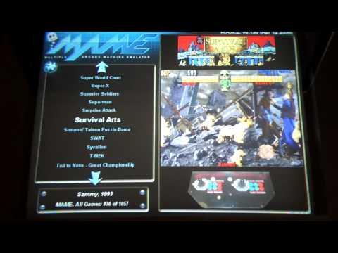 Lightning MAME Arcade Cabinet