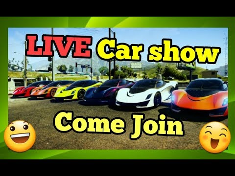 (🔴Live)👉GTA5 Car Show/Car Meet Up Come Join And Show Often Your Cars/PS4 👈