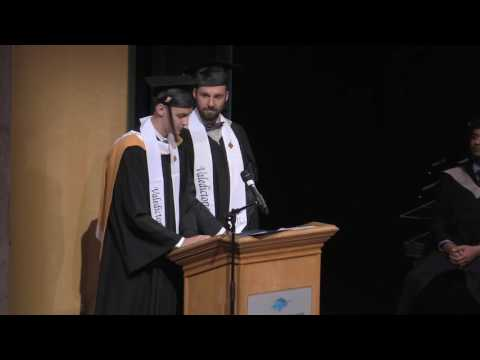 Blake Landry and Johannes Beckers valedictorian speech - June 7, 2017