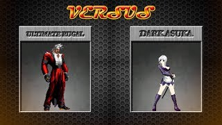 [KOF Mugen] Ultimate Rugal vs Dark Asuka