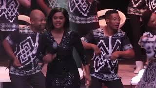Tshwane Gospel Choir-Imiqhele (Live) ft Virginia Mukwevho