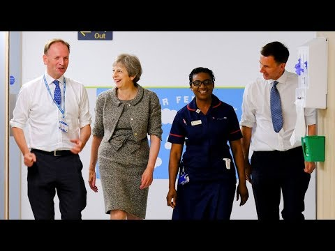 Prime Minister Theresa May on NHS 70