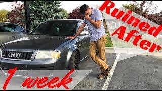 I Already Runined My Audi RS6? FML