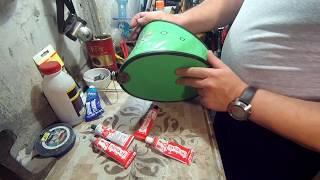 Насос резиновый лягушка для резиновых лодок