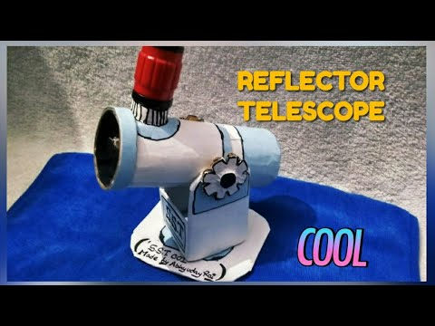 My homemade REFLECTOR TELESCOPE review