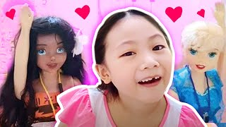 Barbie Boxfort School | Bug's First Day + School Supplies