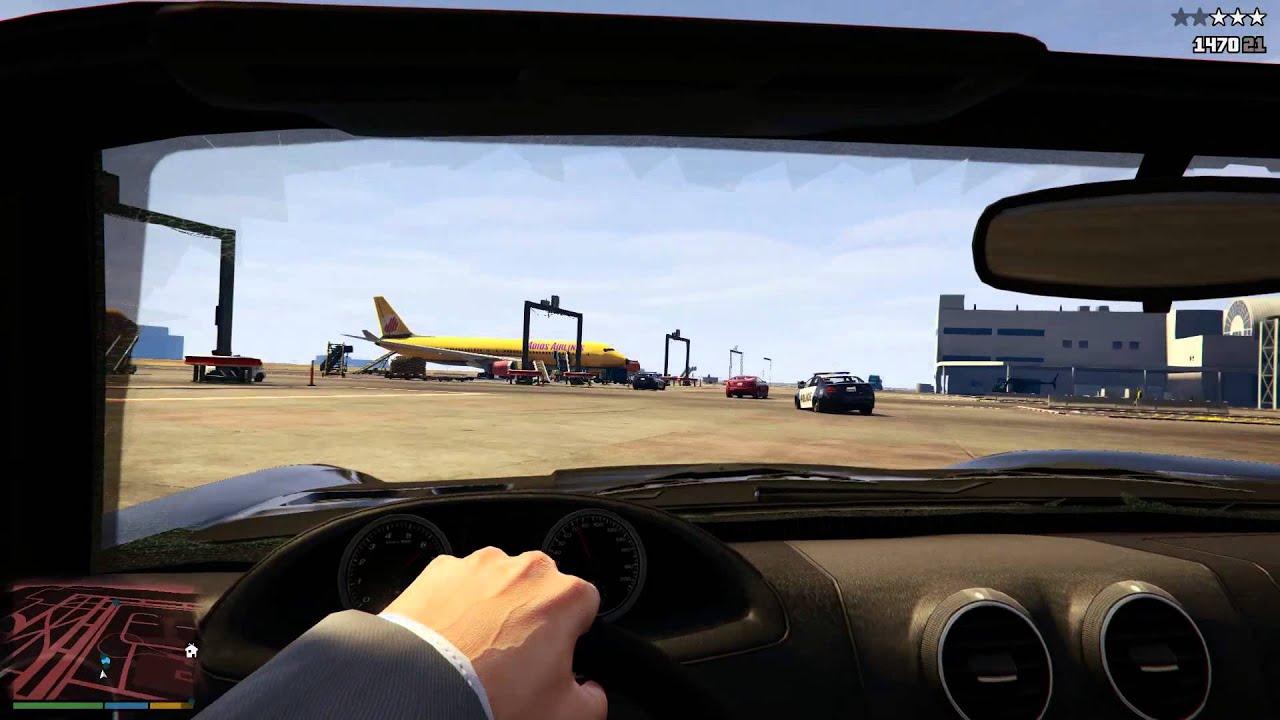 Grand Theft Auto V para PS4: Apresentando o novo modo em primeira-pessoa