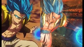 Recreating Anime Moments In Dragon Ball Xenoverse 2 SSGSS Gogeta VS Full Power Broly With Dialogue!
