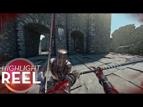 Mordhau Knight Punts Own Head