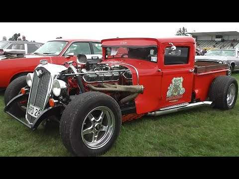 Street Machines, Hot Rods & Rat Rods at Muscle Car Madness 2016