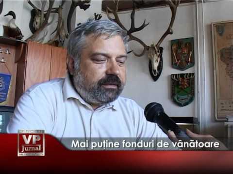 Mai puţine fonduri de vânătoare