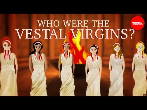 Who were the Vestal Virgins, and what was their job?