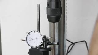 Güde GTB 20/812 Tischbohrmaschine präzesion gemessen