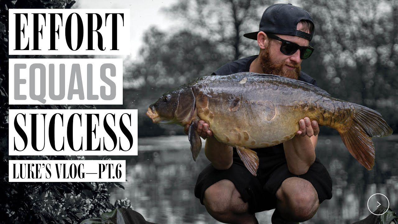 Carp Fishing Success By Overcoming Challenges! Luke Venus Vlog 6