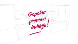 GA+kuhinje - Popolna prenova kuhinje