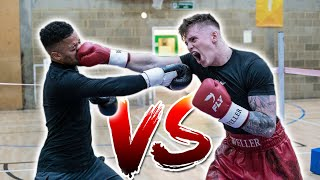JOE WELLER VS JEREMY LYNCH - WINNER GETS $25,000 (Boxing Match) BEHIND THE SCENES!
